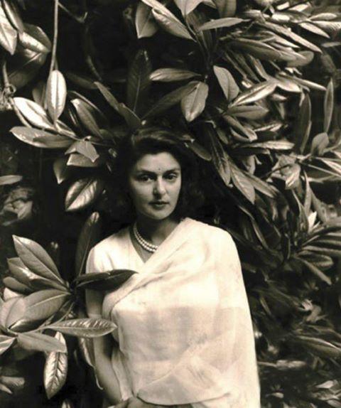 Rajmata Gayatri Devi of Jaipur, 1961.