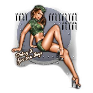 For the boys....: Military Pinup, Bomber Pinup, Pinup Ideas, Pinupglam Girls, Pinup Girls, Army Pinup Tattoo, Pinup Art