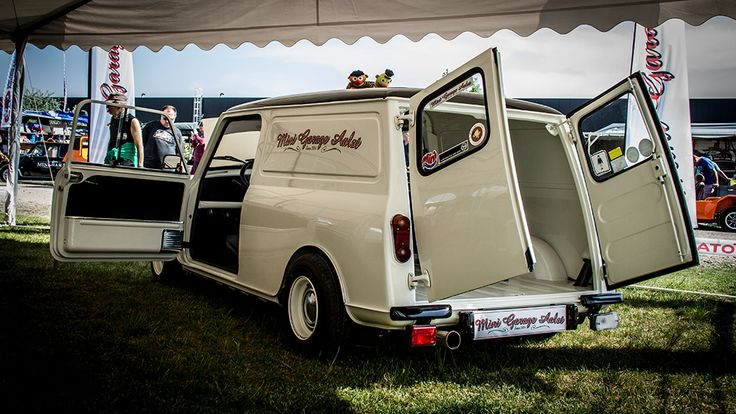 This vintage MINI Van never goes out of style. #ClassicMini