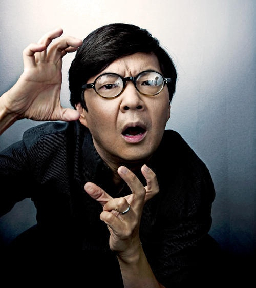 ken jeong. This guy is a doctor and Senor Chang!!!
