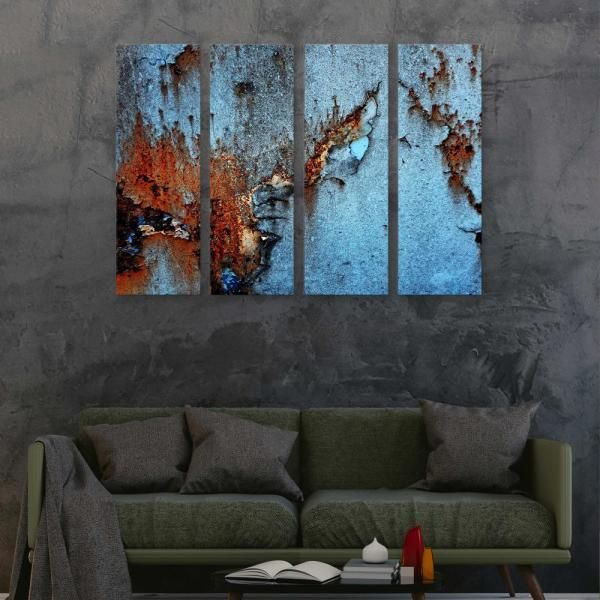 Artwall Rust By Photoinc Studio Framed Wall Art 5pst204d3648w The Home Depot Wall Art Framed Wall Art Art