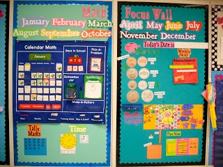 First Grade Fresh: Math Focus Wall and My New Obsession...