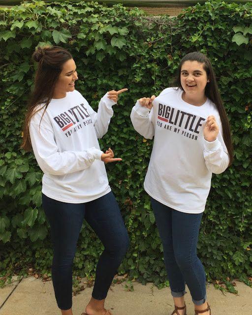 caiti nicole: Big & Little: You're My Person Sorority Shirts