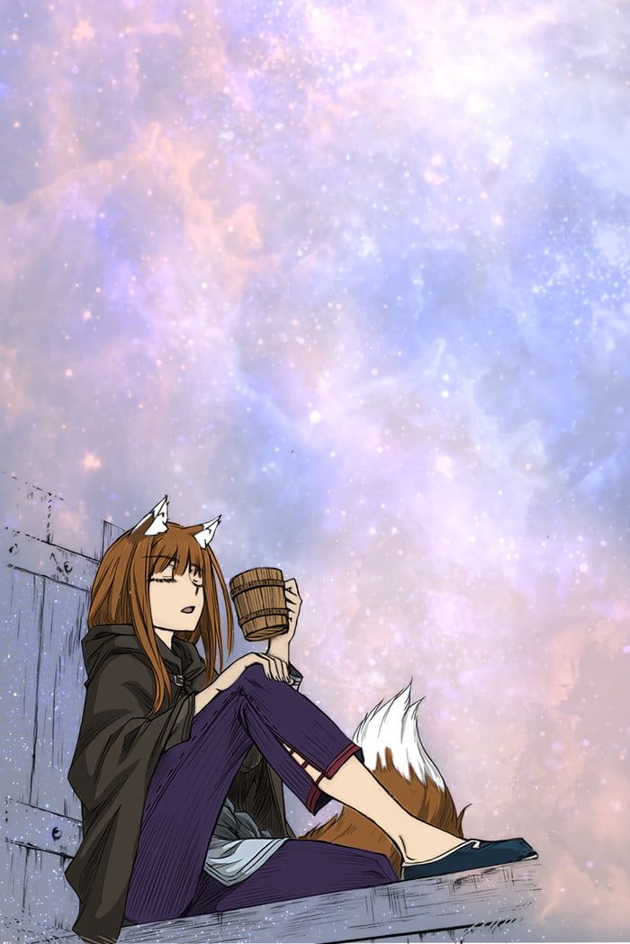She Is The Best Raccoon Girl Anime Wolf Girl Spice And Wolf Anime