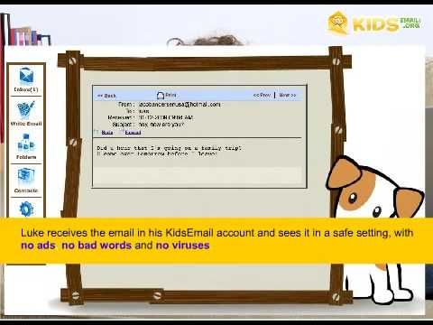 Safety Email For Kids | KidsEmail