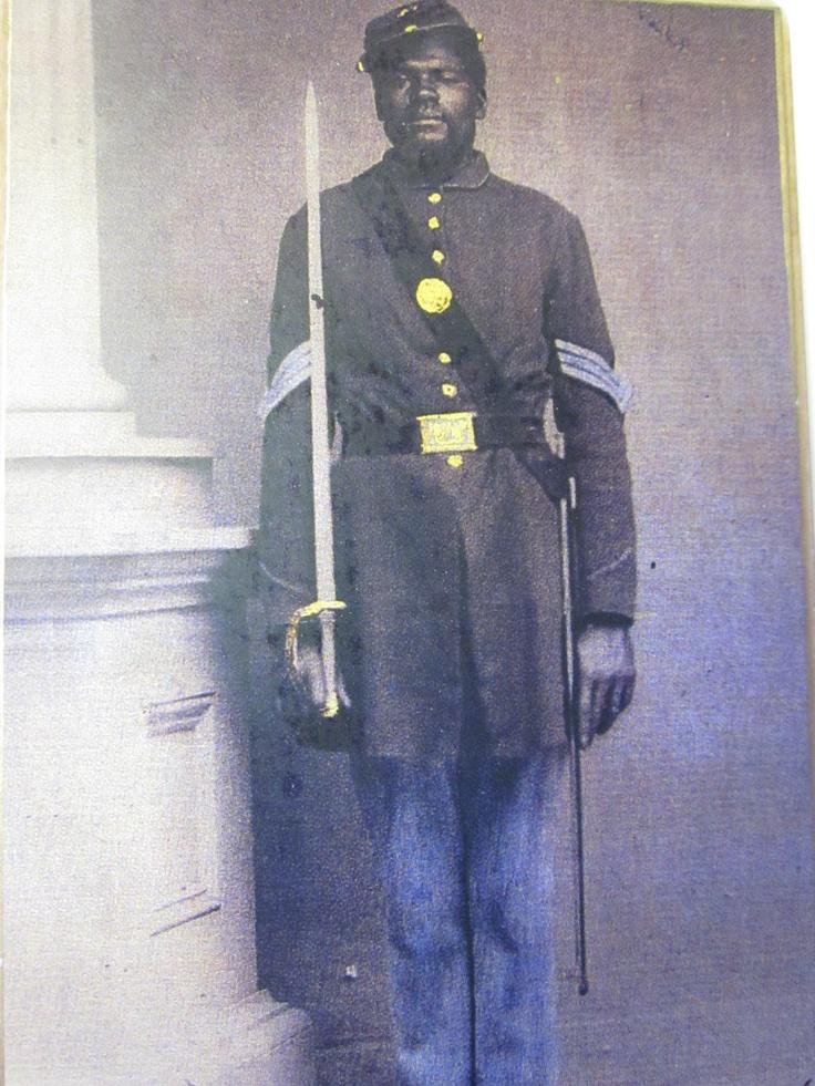 Rare image of Black Union Soldier: Civil Wars, African American, Black Union, American History, Early Photos, Vintage, Black History, 1850S 1865, 1850 1865