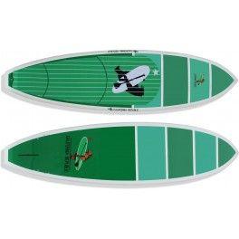 """San Marcos 8'6"""" x 31"""" x 4,3""""  Modelo para Sup Surf, com boa flutuação e estabilidade.   Bico estreito, rabeta square, fundo com v-bottom e double concave, válvula de controle de pressão e setup para 5 quilhas encaixe fcs sendo que a central para quilhão.  Prancha ideal para ondas, pessoas de até 90kg de nível intermediário a avançado.  *Acompanha deck personalizado em EVA e jogo de quilhas - See more at…"""