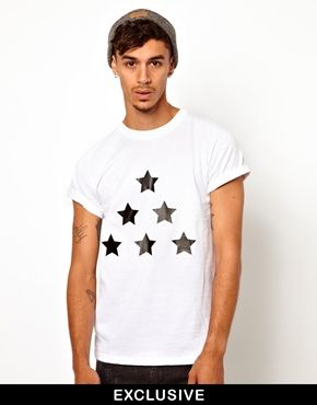 Reclaimed Vintage T-Shirt With Stars