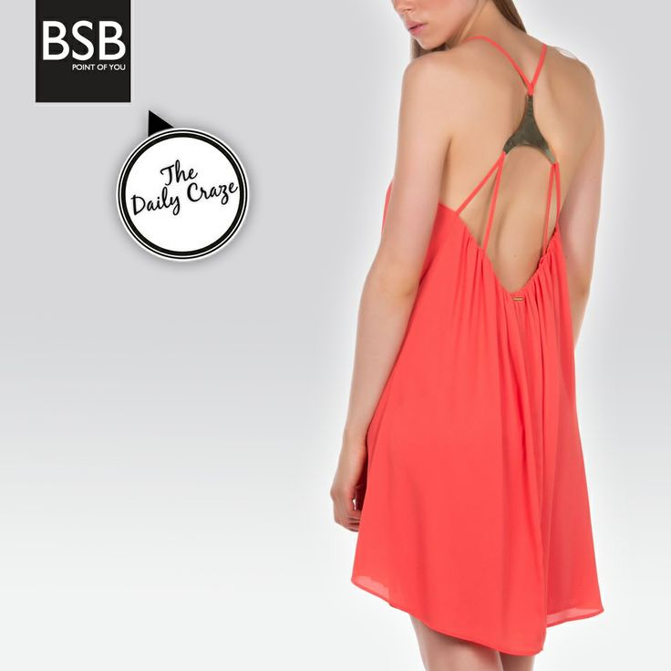 Small #details can make a big difference! #BSB_SS14 #collection #coral #colors #mini_dress