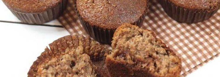 Razowe muffiny z czekoladą