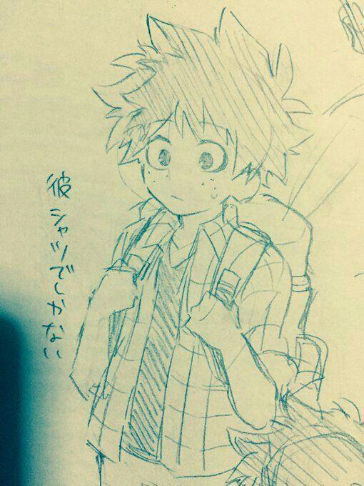 Ruang Belajar Siswa Kelas 10 Anime Drawings Mha