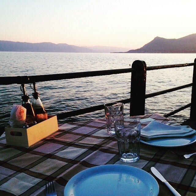 Enjoy fresh food by the sea! #ThermaeSylla #gastronomy