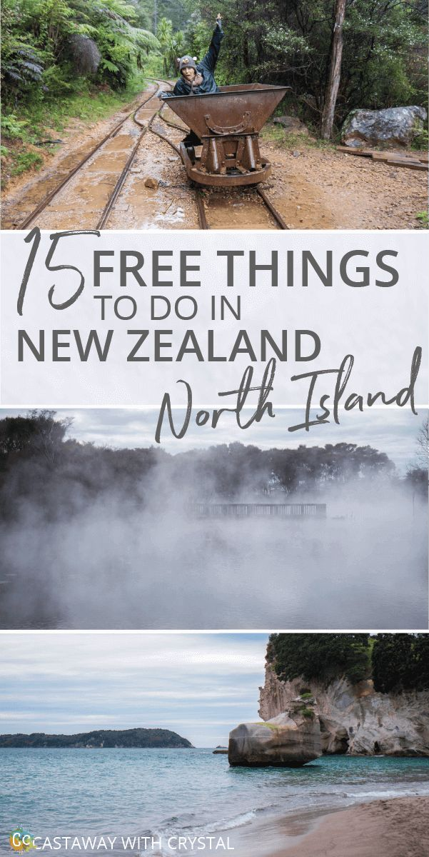 15 FREE and awesome things to do in the North Island of New Zealand | Want to do something different? Try out these free things you can do in New Zealand | Free things to do in Paihia, Northland, Auckland, The Coromandel Peninsula, Rotorua, Hamilton and Wellington #NewZealand #NorthIsland #Free @CastawayCrystal