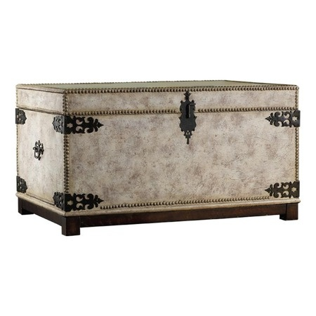 I pinned this Melange Victoria Trunk from the Hooker event at Joss and Main!