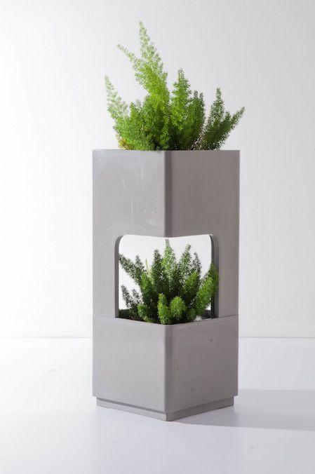 Grey by TREE SQUARE #planter #Concrete