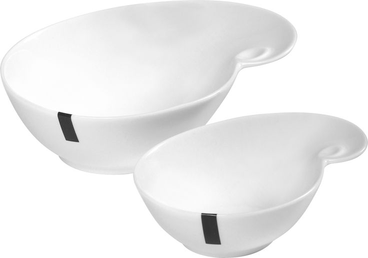Robe Bowl – Small & Medium  Named after a small coastal town in South Australia, the Robe Bowl a popular choice in the LARDER crockery range. It's perfect for serving dips, olives and mixed nuts when friends drop around. It comes in two sizes Small and Medium, in bright white and is made from high quality porcelain, which is durable, lightweight, dishwasher, microwave and oven safe.  larder.com.au