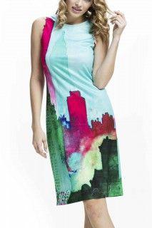 Culito from Spain barevné šaty Blue City - 1112 Kč