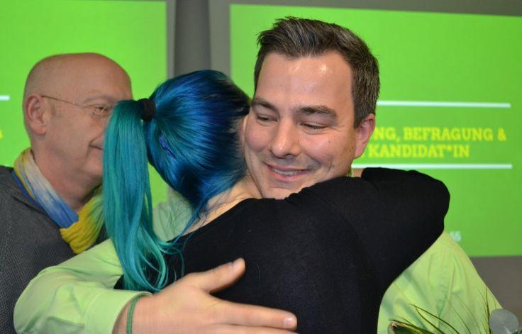 Geschafft: Maurice Müller freut sich auf seine Aufgabe als Spitzenkandidat der Grünen in Bremerhaven bei der Bundestagswahl.