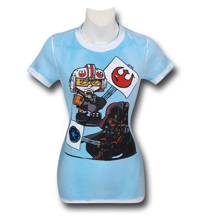 Save $5 on any order over $25 order when you share our page to your favorite social media network.  Discount does not apply to HeroBox Star Wars Picket Signs Women's T-Shirt