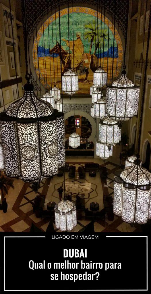 Como escolher o melhor hotel em Dubai !   Nós ajudamos a escolher o melhor hotel em Dubai, detalhando as diferenças de opções, bairros e contando nossa experiência no planejamento e durante a viagem.  Qual bairro escolher? - Deira/Bur Dubai, Jumeirah Beach/Downtown Dubai, Al Barsha, Palmeira Jumeirah, Dubai Marina ou Sheikh Zayed Road.