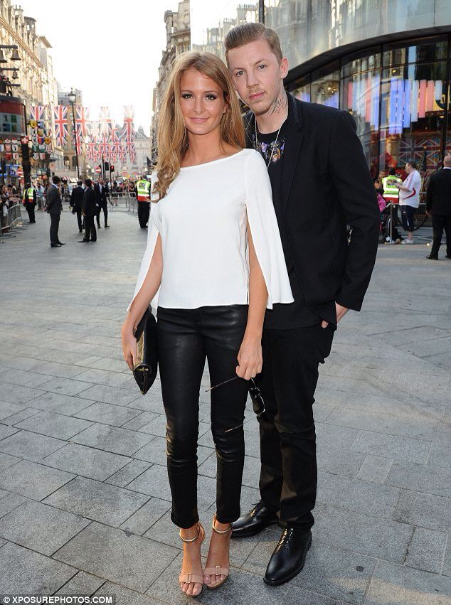 Professor Green and his HAWT wife Millie Mackintosh