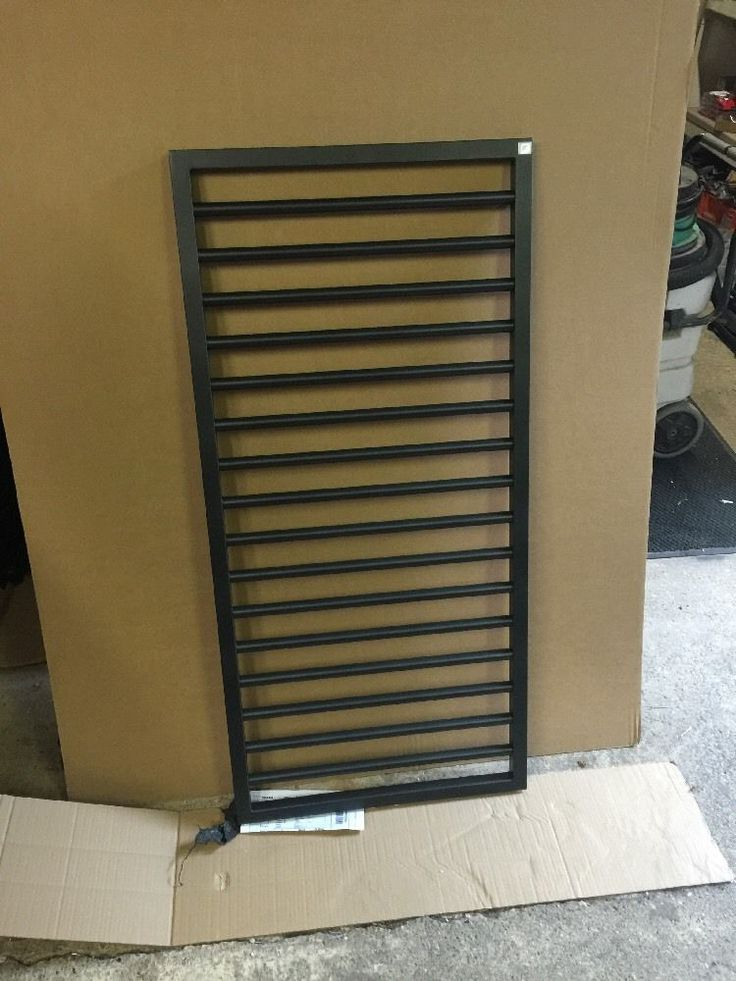 Zehnder subway volcanic black slight second. one bar has a slight scuff see pic about halfway down nothing much tiny bit too corner but still really nice looking radiator. Size is 600 wide and 1261 high. | eBay!