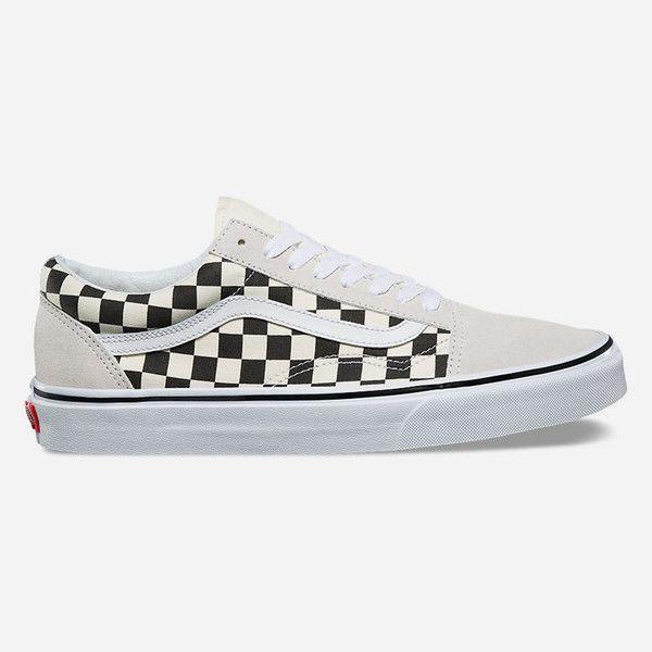black and white checkered vans price