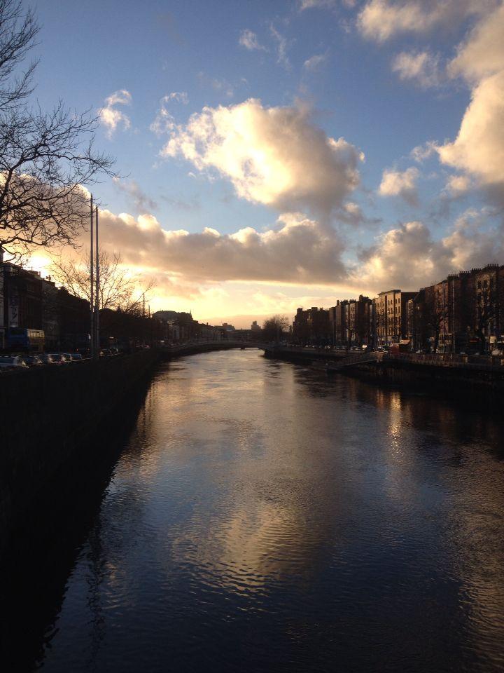 Sunset Dublin 25/01/2016