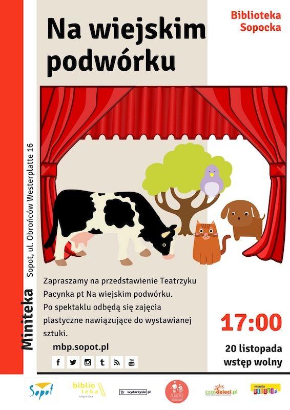 #mbpsopot #bibliotekasopocka #sopot #biblioteka #library #event #poster #plakat #forkids #dzieci