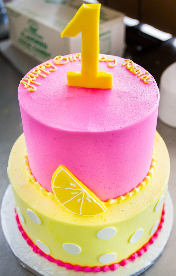 Pink Birthday Cake Pinterest