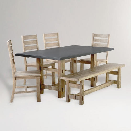 Jackson Rectangular Table With Metal Base: Tables, Feelings And Dining Rooms