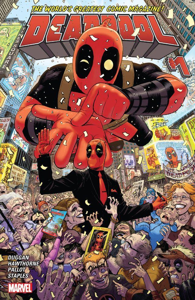 #Deadpool (2015) #1 #Marvel (Cover Artist: Tony Moore) Release Date: 11/4/2015