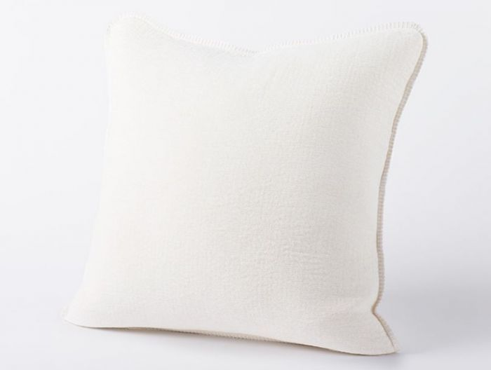 Cozy Cotton Organic Pillow Charcoal Coyuchi Organic Pillow Organic Blankets Coyuchi