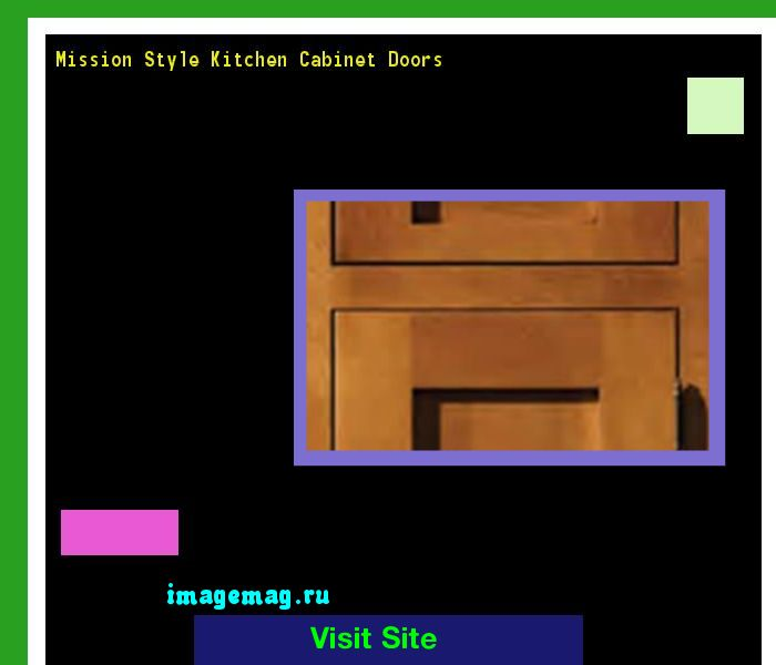 Mission Style Kitchen Cabinet Doors 162643 - The Best Image Search
