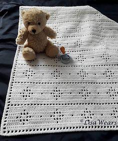 Ravelry, free crochet pattern, baby, blanket, #haken, gratis patroon (Engels), baby, deken, kraamcadeau, #haakpatroon