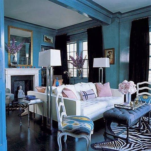 Inspiration: Blue Oriental