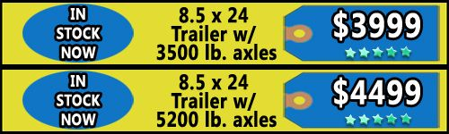 Trailers for Sale in MS - 8.5 X 24 Enclosed Trailers  - http://www.trailersnow.net/trailers-for-sale-in-ms-85-x-24-enclosed-trailers.html