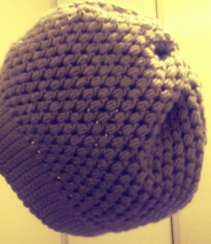 Boina en crochet. www.facebook.com/ventascrochet2.0