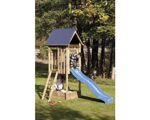 Luxury Spielturm Peter mit Leiter und Rutsche bei HORNBACH kaufen