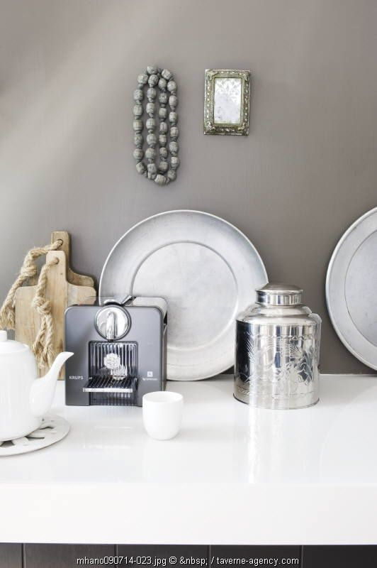 greige: interior design ideas and inspiration for the transitional home : I heart grey