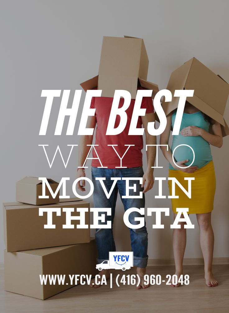 The best way to #move in the #GTA! #OurServices 416-960-2084 Your Friend with a Cube Van #YFCV #TorontoMovers www.yfcv.ca #Moving #Packing and #Supplies