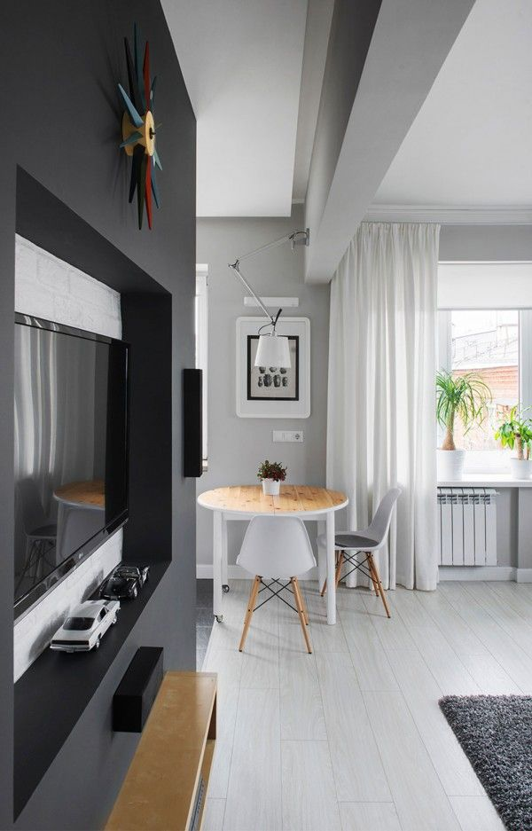 Small Apartment Design in Moscow Picture