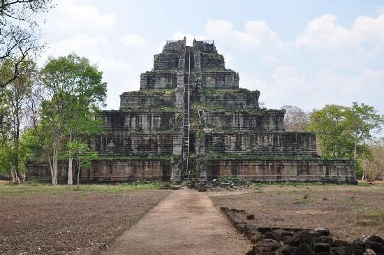 3 hours from Siem Reap... apparently amazing temple Koh Ker.