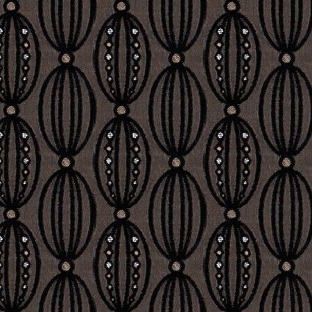Lovely details in Florence Roman Blind fabric.  #home decor #black #'blinds #247