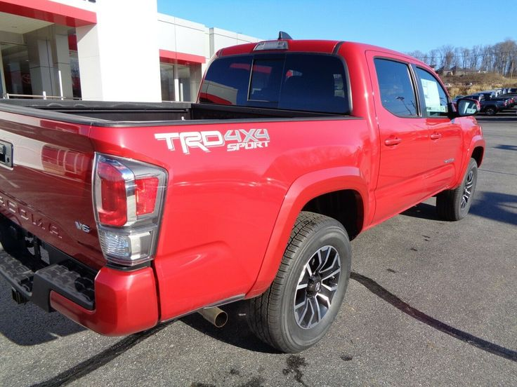 Used 2020 Toyota New 2020 Double Cab 4x4 3.5L 4WD