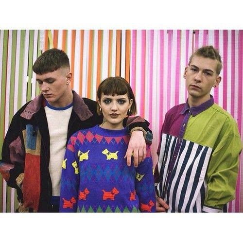 Tola Vintage Lookbook  Styling and Creative Direction - Aoife Dunne  Photo - Ellius Grace  Makeup - Lisa Redmond  Models - Shay Smith, Jamie Mann  #tolavintage #vintage #dublin #stripes #model #photoshoot #lookbook