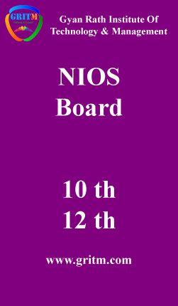 NIOS Board Admission 2016