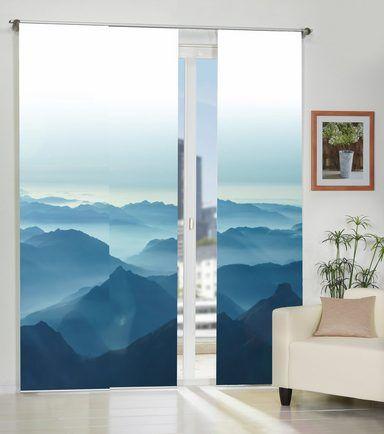 die besten 25 schiebegardine ideen auf pinterest fl chenvorh nge vorh nge gardinen und. Black Bedroom Furniture Sets. Home Design Ideas