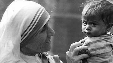 Moder Teresa    Att framhålla sin (goda) bedrifter kan inspirera andra att göra gott