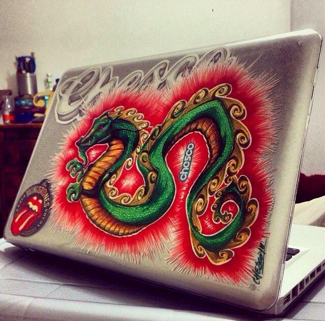 Customized laptop (Little Draguun)